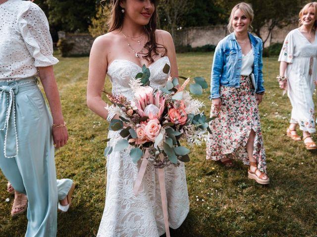 Le mariage de Dorian et Laurianne à La Jaille-Yvon, Maine et Loire 85