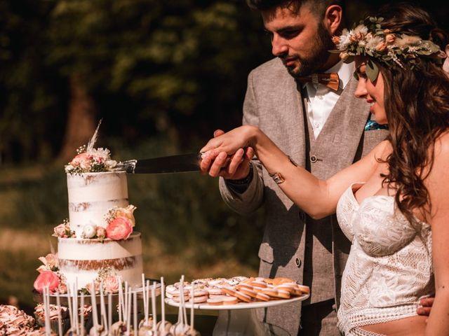 Le mariage de Dorian et Laurianne à La Jaille-Yvon, Maine et Loire 93