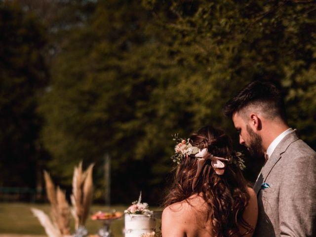 Le mariage de Dorian et Laurianne à La Jaille-Yvon, Maine et Loire 94