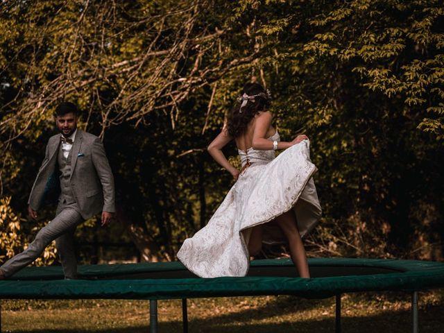 Le mariage de Dorian et Laurianne à La Jaille-Yvon, Maine et Loire 123