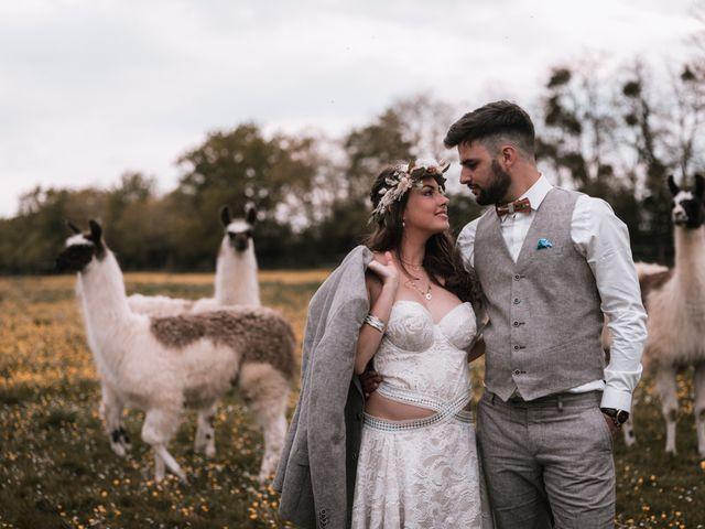 Le mariage de Dorian et Laurianne à La Jaille-Yvon, Maine et Loire 134