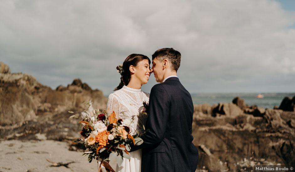 Le mariage de Christian et Margaux à Locquirec, Finistère