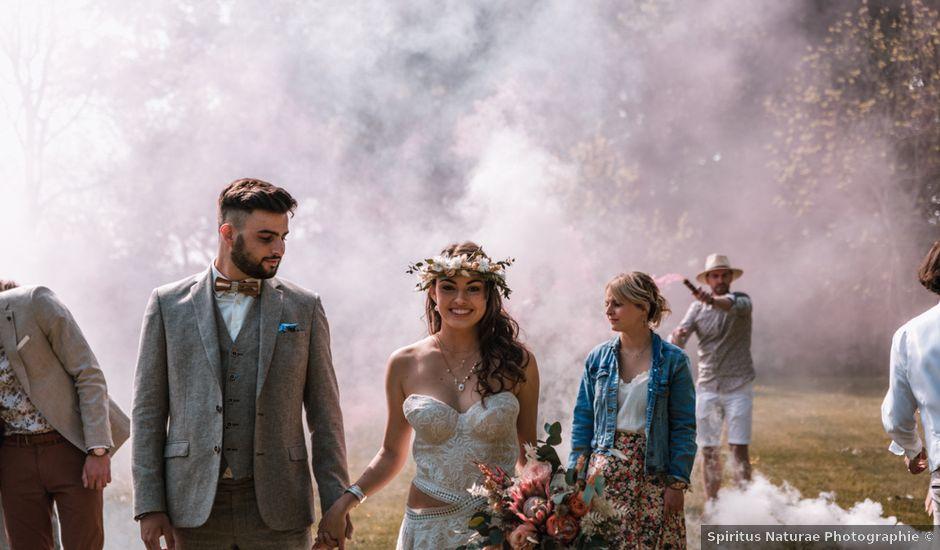 Le mariage de Dorian et Laurianne à La Jaille-Yvon, Maine et Loire