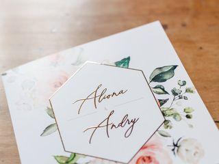 Le mariage de Aliona et Andry 1