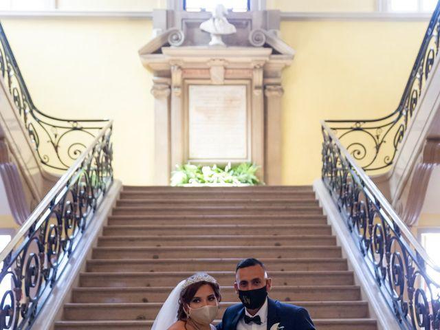 Le mariage de Mounir et Sarah à Troyes, Aube 21