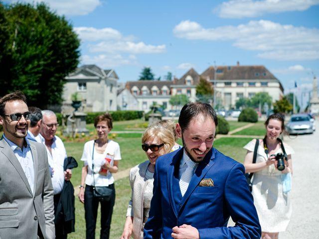 Le mariage de Florian et Cynthia à Châteauneuf, Loire 40