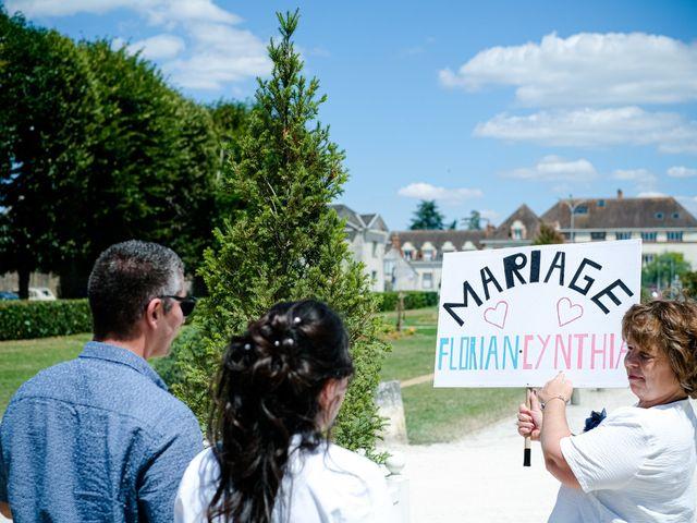 Le mariage de Florian et Cynthia à Châteauneuf, Loire 42