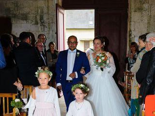 Le mariage de Justine et Frédéric  et LE CHEVALIER 3