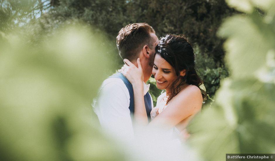 Le mariage de Nicolas et Leslie à Nans-les-Pins, Var