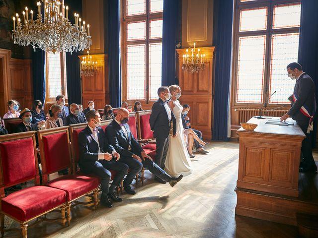 Le mariage de Arnaud et Magali à Paris, Paris 6