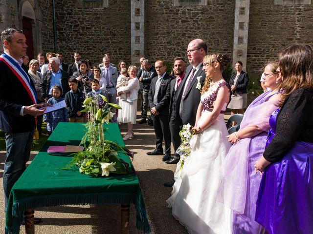 Le mariage de Jérémy et Elodie à Commer, Mayenne 6