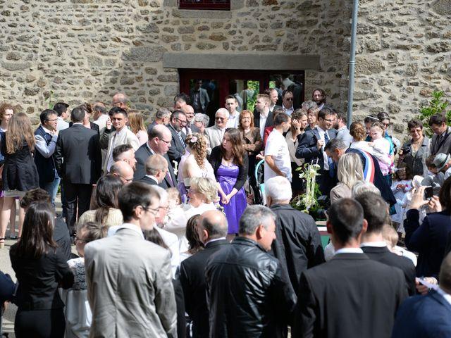 Le mariage de Jérémy et Elodie à Commer, Mayenne 7