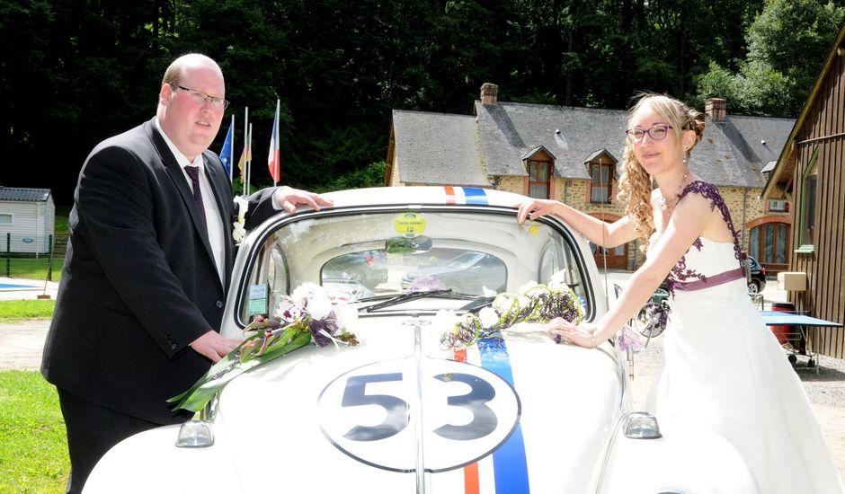 Le mariage de Jérémy et Elodie à Commer, Mayenne
