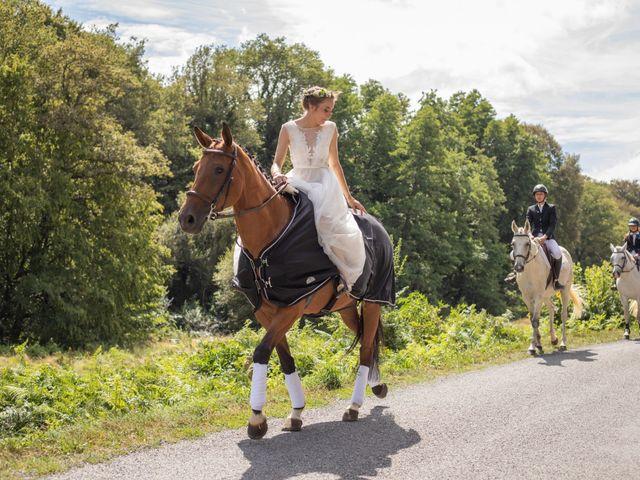 Le mariage de Antoine et Sibylle à Bessines-sur-Gartempe, Haute-Vienne 1