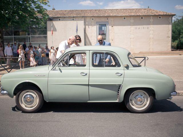 Le mariage de Vincent et Clélia à Génissac, Gironde 31