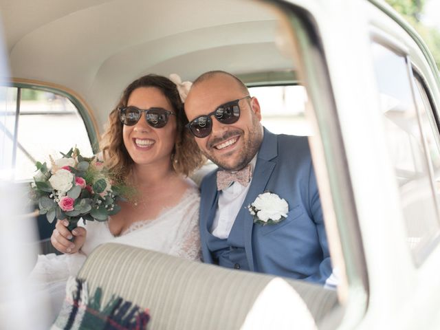 Le mariage de Vincent et Clélia à Génissac, Gironde 32