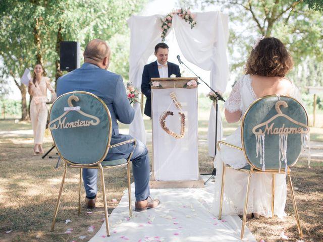 Le mariage de Vincent et Clélia à Génissac, Gironde 44