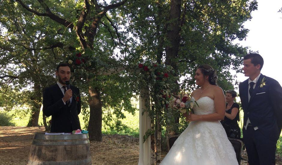 Le mariage de Simon et Pauline à Nans-les-Pins, Var