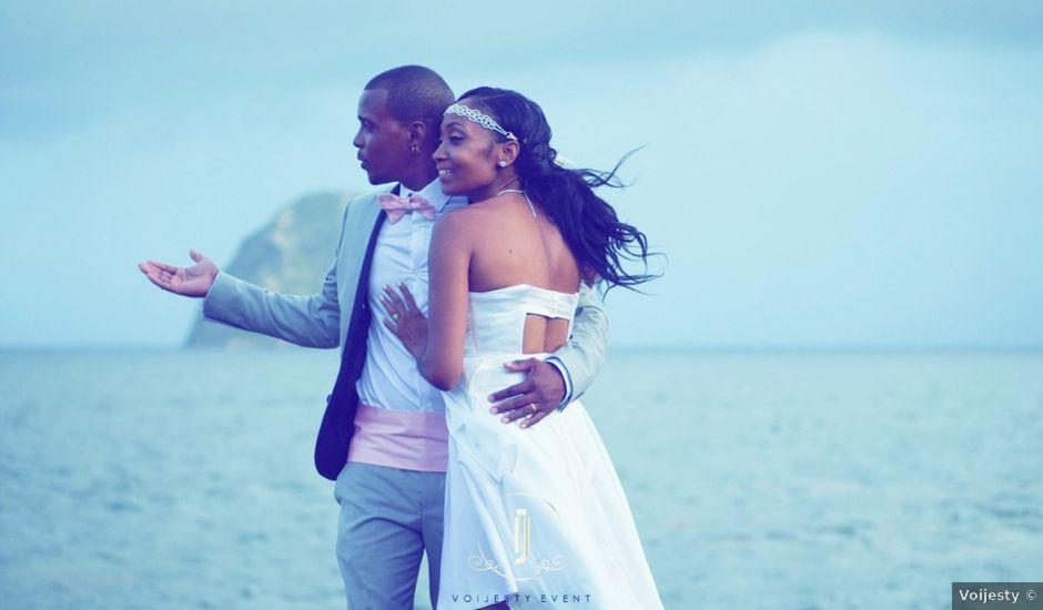 Le mariage de Teddy et Kelly à Le Diamant, Martinique