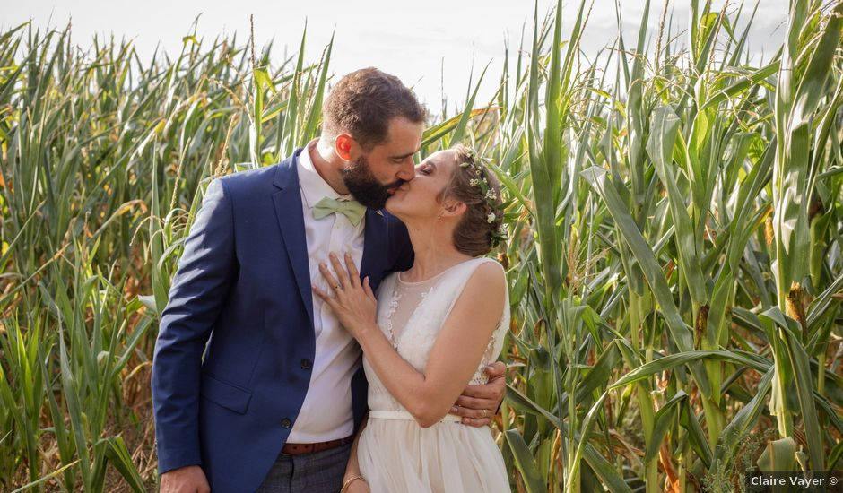Le mariage de Antoine et Sibylle à Bessines-sur-Gartempe, Haute-Vienne