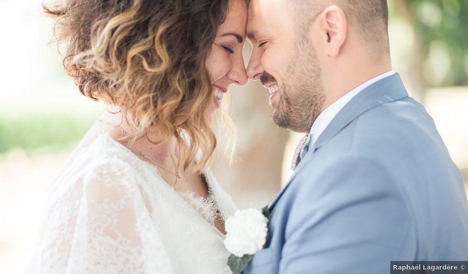 Le mariage de Vincent et Clélia à Génissac, Gironde