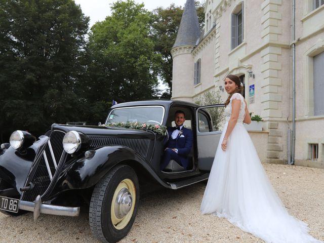 Le mariage de Guillaume et Adeline à Vendeuvre-du-Poitou, Vienne 7