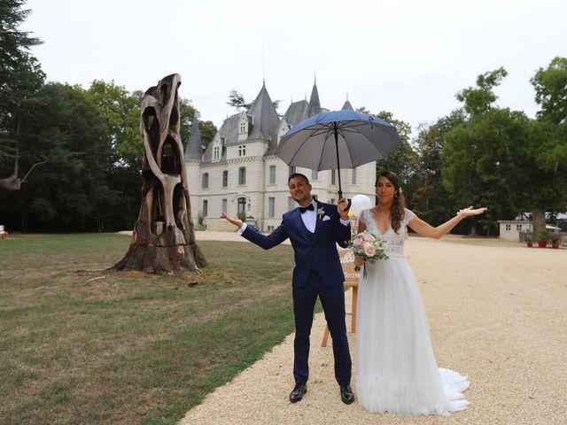 Le mariage de Guillaume et Adeline à Vendeuvre-du-Poitou, Vienne 10