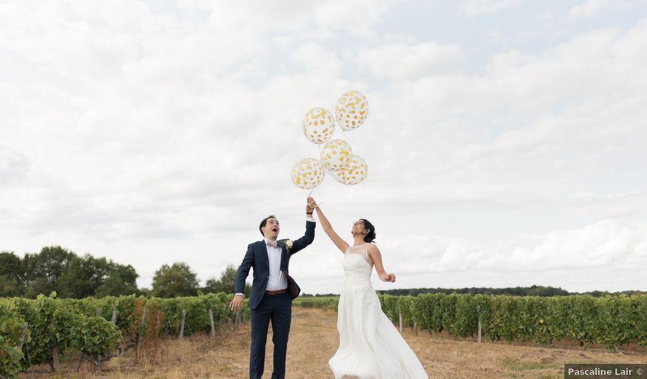 Le mariage de Stephen et Léa à noizay, Indre-et-Loire
