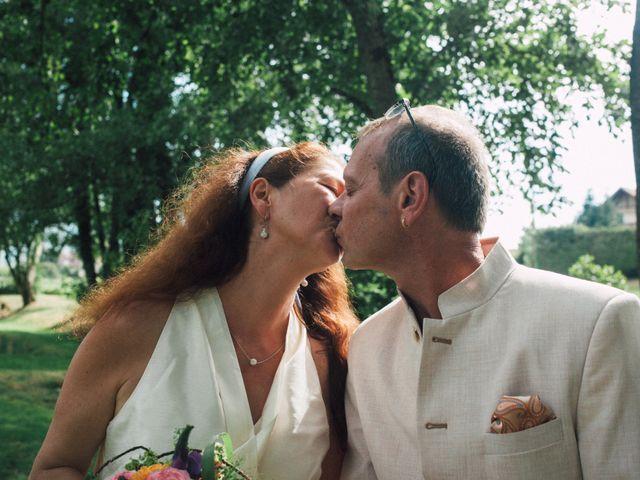 Le mariage de Sylvain et Catherine à Gruffy, Haute-Savoie 10