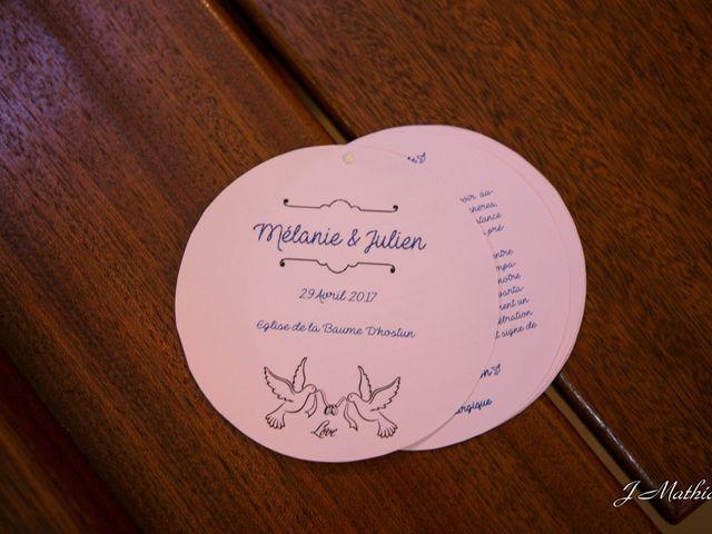 Le mariage de Julien et Mélanie à Romans-sur-Isère, Drôme 9