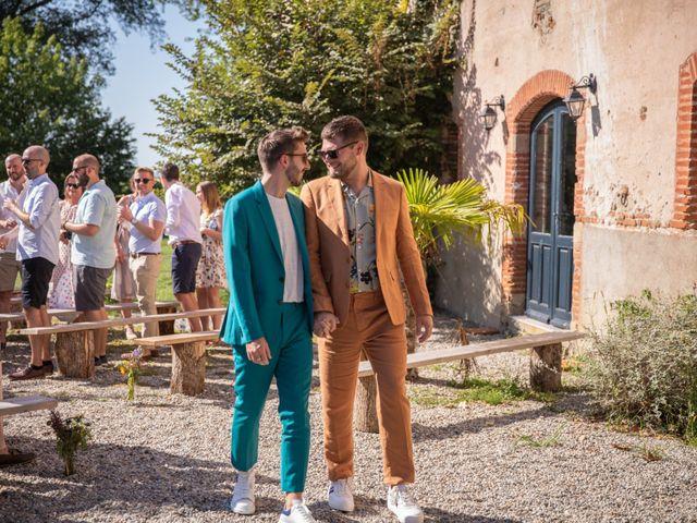 Le mariage de James et Jonathan à Cintegabelle, Haute-Garonne 10