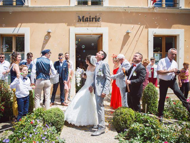 Le mariage de Romain et Barbara à Flée, Sarthe 18
