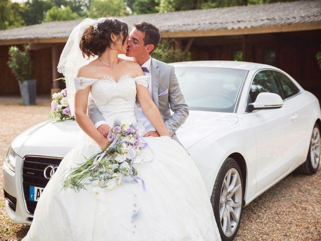 Le mariage de Romain et Barbara à Flée, Sarthe 36
