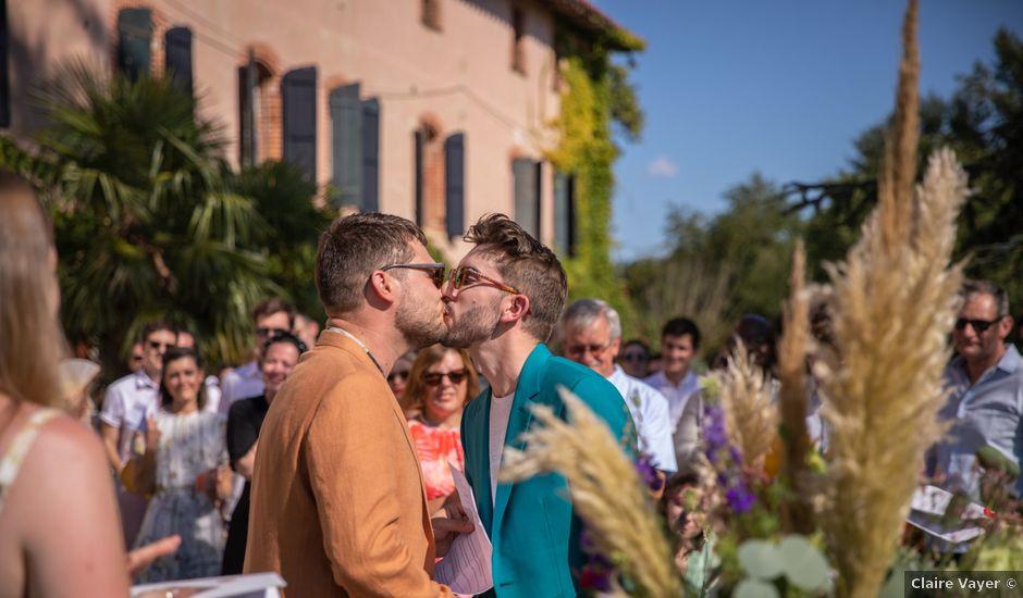 Le mariage de James et Jonathan à Cintegabelle, Haute-Garonne