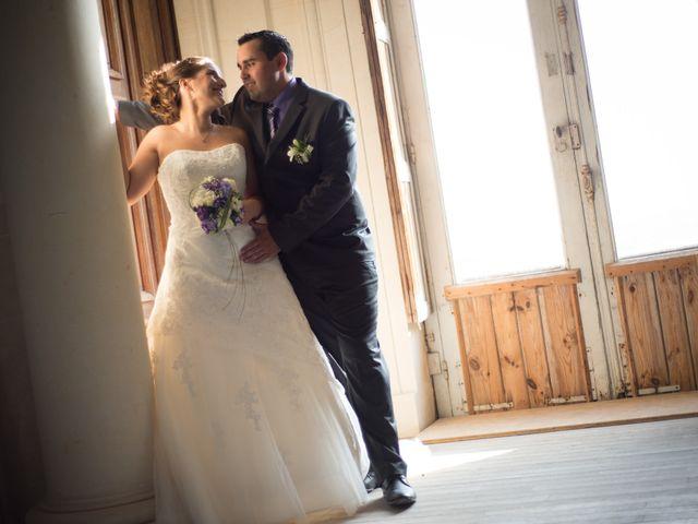 Le mariage de Lauriane et Matthieu à Saint-Séverin, Charente 2