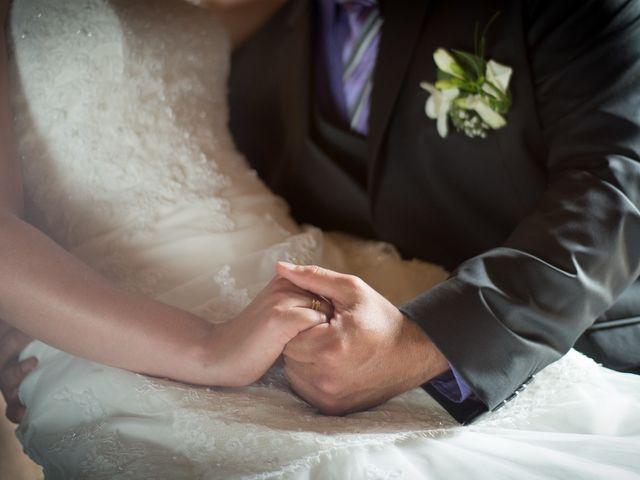 Le mariage de Lauriane et Matthieu à Saint-Séverin, Charente 4