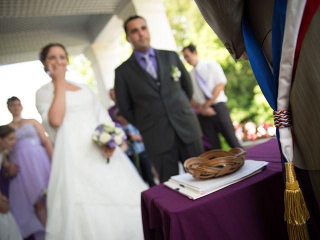 Le mariage de Lauriane et Matthieu à Saint-Séverin, Charente 14