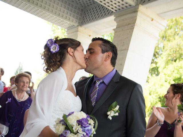 Le mariage de Lauriane et Matthieu à Saint-Séverin, Charente 16
