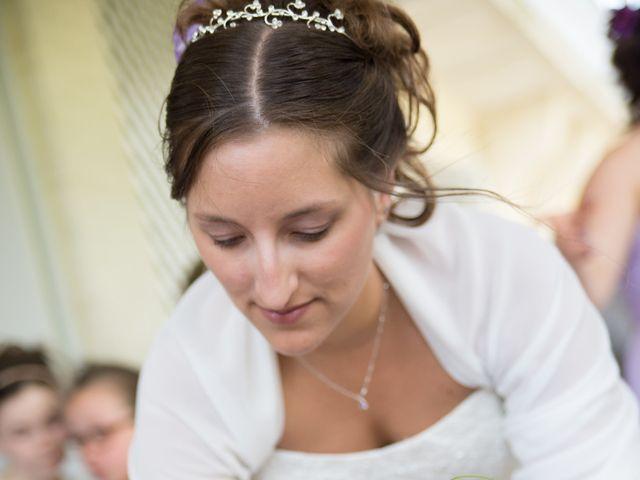Le mariage de Lauriane et Matthieu à Saint-Séverin, Charente 17