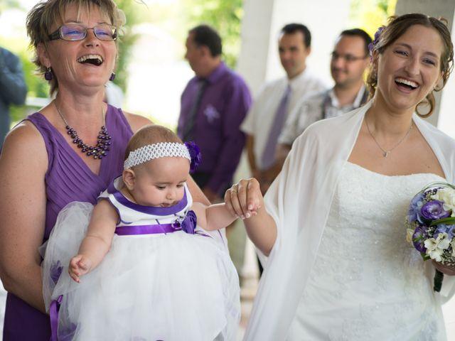 Le mariage de Lauriane et Matthieu à Saint-Séverin, Charente 19