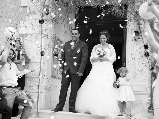 Le mariage de Lauriane et Matthieu à Saint-Séverin, Charente 21