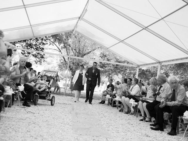 Le mariage de Lauriane et Matthieu à Saint-Séverin, Charente 25