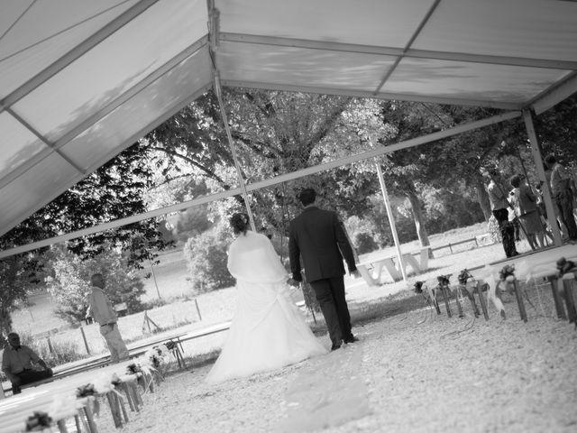 Le mariage de Lauriane et Matthieu à Saint-Séverin, Charente 37