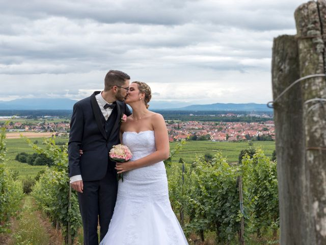 Le mariage de Kévin et Jessica à Scherwiller, Bas Rhin 16
