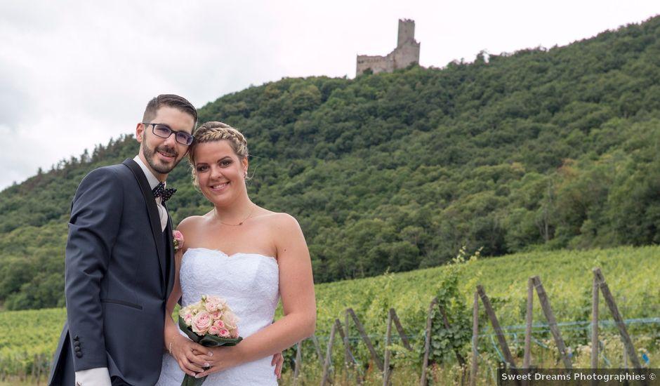 Le mariage de Kévin et Jessica à Scherwiller, Bas Rhin