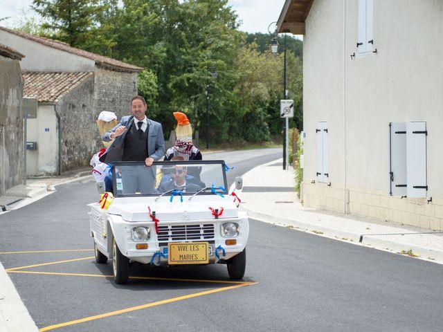 Le mariage de Damien et Laure à Mirambeau, Charente Maritime 25