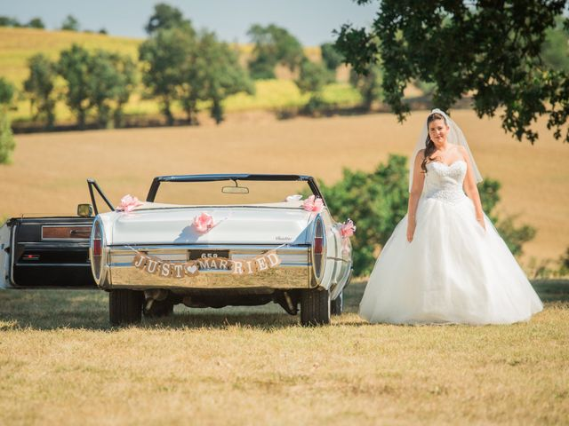 Le mariage de Benjamin et Camille à Pratviel, Tarn 16