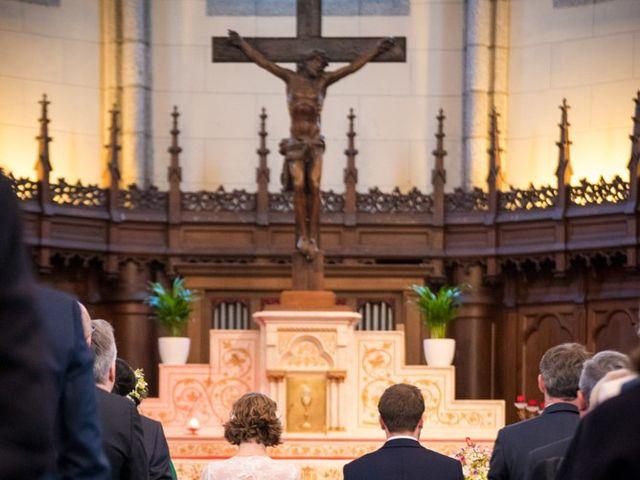Le mariage de Pierre et Clara à Saint-Ouen-la-Rouërie, Ille et Vilaine 16