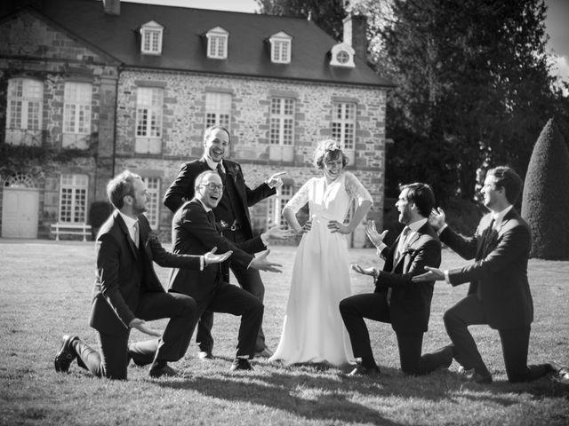 Le mariage de Pierre et Clara à Saint-Ouen-la-Rouërie, Ille et Vilaine 35
