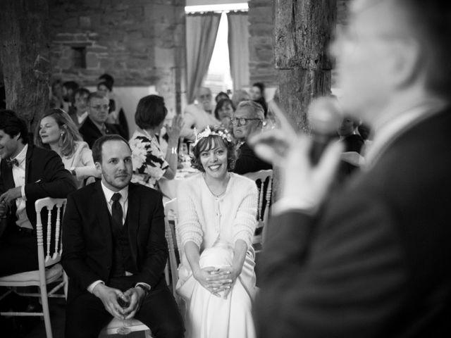 Le mariage de Pierre et Clara à Saint-Ouen-la-Rouërie, Ille et Vilaine 56
